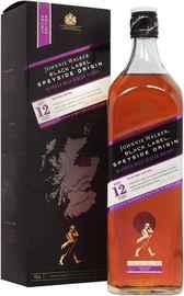 Виски шотландский «Johnnie Walker Black Label Speyside Origin» в подарочной упаковке