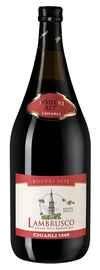 Вино игристое красное полусладкое «Lambrusco dell'Emilia Rosso Poderi Alti» 2019 г.