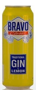 Коктейль «Bravo Classic Traditional Gin Lemon»