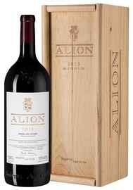 Вино красное сухое «Alion Bodegas Alion» 2016 г., в деревянной подарочной упаковке