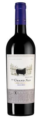 Вино красное полусухое «Le Grand Noir Malbec Jean d'Alibert» 2019 г.