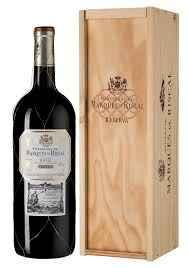 Вино красное сухое «Marques de Riscal Reserva» 2016 г., в деревянной подарочной упаковке