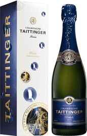Шампанское белое брют «Taittinger Prelude Grands Crus Brut» в подарочной упаковке