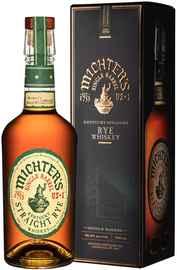 Виски американский «Michter's US*1 Straight Rye» в подарочной упаковке