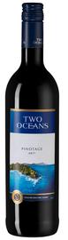 Вино красное  полусухое «Two Oceans Pinotage» 2017 г.