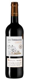 Вино красное сухое «Rigal Les Terrasses Malbec Cahors» 2018 г.