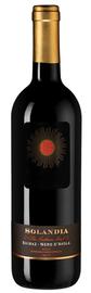 Вино красное полусухое «Solandia Shiraz-Nero d Avola Terre Siciliane» 2018 г.