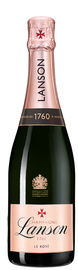 Шампанское розовое брют «Lanson Rose Label Brut Rose» 2015 г.