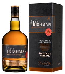 Виски ирландский «The Irishman Founder's Reserve» в подарочной упаковке