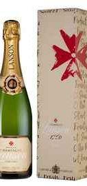 Шампанское белое полусухое «Lanson Ivory Label Demi-Sec» 2014 г. в подарочной упаковке