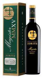 Вино красное сухое «Marques de la Concordia Hacienda Zorita Magister Castilla y Leon» 2016 г., в подарочной упаковке