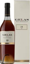 Арманьяк «Gelas Bas Armagnac 18 ans» в подарочной упаковке
