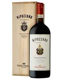 Вино красное сухое «Nipozzano Chianti Rufina Riserva» 2016 г. в деревянной коробке