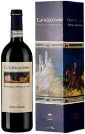 Вино красное сухое «Castelgiocondo Brunello di Montalcino» 2015 г., в подарочной упаковке