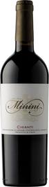 Вино красное сухое «Minini Chianti» 2018 г.