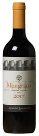 Вино красное сухое «Mongrana» 2017 г.