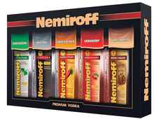 Водка «Nemiroff» набор подароч. 0,1*5 шт
