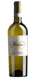 Вино белое сухое «Minini Pinot Grigio» 2018 г.