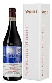 Вино красное сухое «Barolo Riserva Villero Vietti» 2010 г., в подарочной упаковке