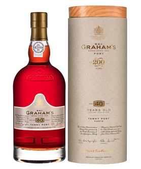 Портвейн «Graham's 40 Year Old Tawny Port» в тубе