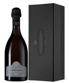 Вино игристое белое экстра брют «Cuvee Annamaria Clementi Franciacorta» 2001 г., в подарочной упаковке