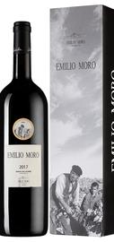 Вино красное сухое «Ribera del Duer Emilio Moro» 2017 г. в подарочной упаковке