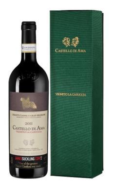 Вино красное сухое «Vigneto La Casuccia Chianti Classico Gran Selezione, 0.75 л» 2011 г., в подарочной упаковке