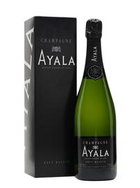 Шампанское белое брют «Ayala Brut Majeur» в подарочной упаковке