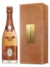 Шампанское розовое брют «Louis Roederer Cristal Rose» 2009 г. в подарочной упаковке
