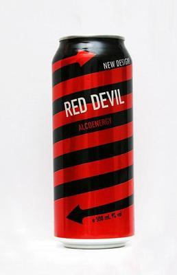 Коктейль «Red devil, 0.33 л»