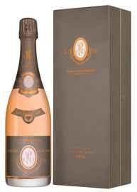 Шампанское розовое брют «Cristal Rose» 1996 г., в подарочной упаковке