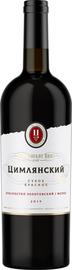 Вино красное сухое «Цимлянский Резерв Красностоп Золотовский/Мерло, 0.75 л»