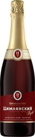 Вино игристое красное сладкое «Цимлянский Резерв Сладкий Долина Дона»