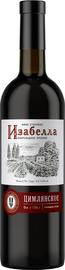 Вино столовое красное полусладкое «Цимлянское Изабелла»