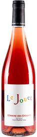 Вино розовое сухое «Le Jouet rose Domaine des Enfants Cotes Catalanes» 2017 г.