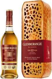 """Виски шотландский «Glenmorangie The Lasanta» в подарочной упаковке """"Жираф"""""""