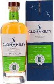 Виски ирландский «Clonakilty Bordeaux Cask Finish» в подарочной упаковке