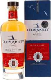Виски ирландский «Clonakilty Port Cask Finish» в подарочной упаковке