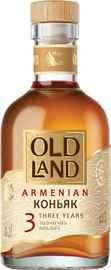Коньяк армянский «Old Land 3 Years, 0.2 л»