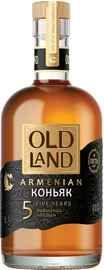 Коньяк армянский «Old Land 5 Years Old, 0.5 л»