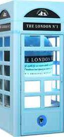 Джин «The London №1 Original Blue Gin Hayman Group Limited» в подарочной упаковке (телефонная будка)