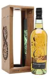 Виски шотландский «Highland Park Light 17 Years Old» в деревянной подарочной упаковке