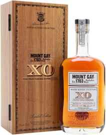 Ром «Mount Gay XO The Peat Smoke Expressions» в деревянной подарочной упаковке