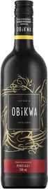 Вино красное сухое «Obikwa Pinotage» 2019 г.