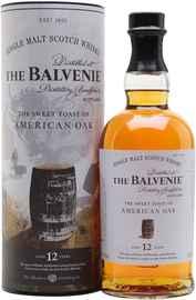 Виски шотландский «Balvenie Stories American Oak 12 Years Old» в тубе