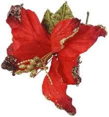 «Decor Pick Stella Natale Rossa» высота 215 мм