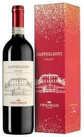 Вино красное сухое «Castiglioni Chianti Xmas Edition» 2018 г.. в подарочной упаковке