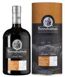 Виски шотландский «Bunnahabhain Manzanilla Cask Finish 2008» в тубе