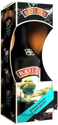 Ликер «Baileys Original» в подарочной упаковке