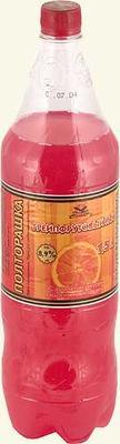 Напиток слабоалкогольный газ. пастеризованный «Полторашка Грейпфрутовый рай»